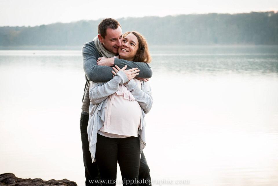couple grossesse lac de Tremelin rennes