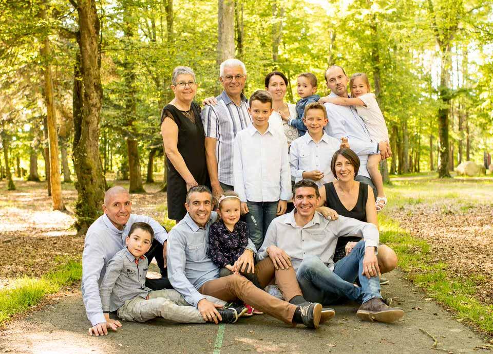 portrait de famille parents et enfants château des pères ille-et-vilaine